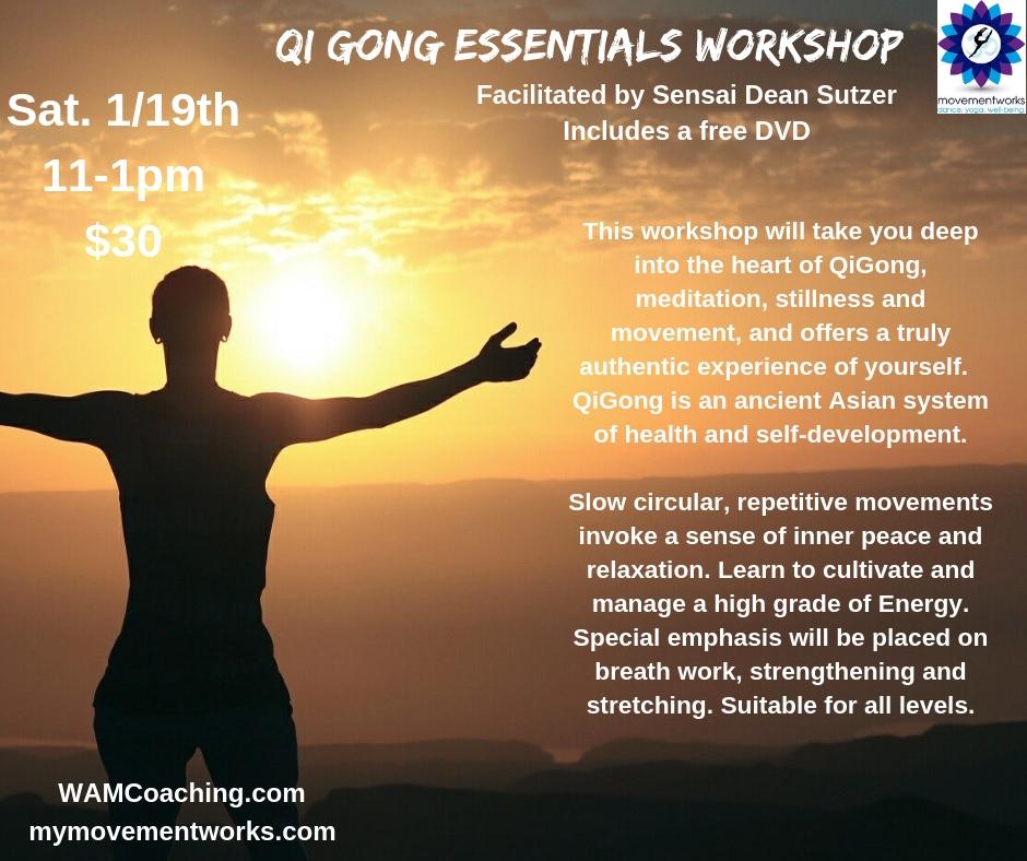 Qigong Essentials – Movement Works